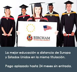 Requisitos de Admisión - Bircham International University