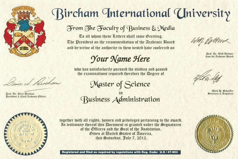 Ejemplo Diploma Master de BIU