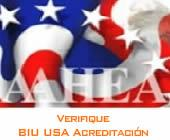 BIU USA Acreditación